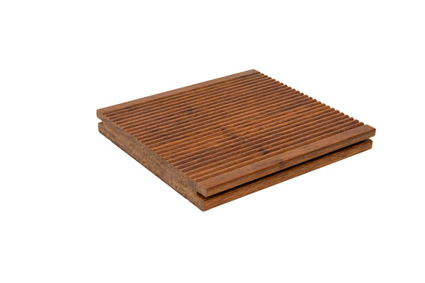 Light Strand Woven Bamboo Flooring with Small Ripple